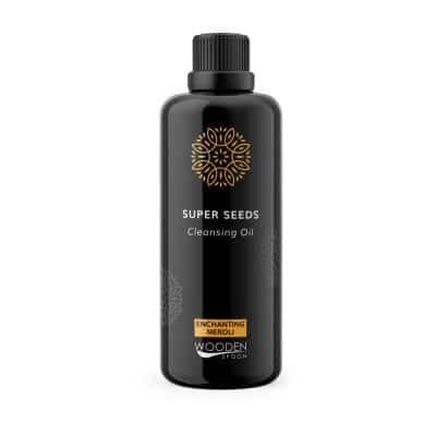 Почистващо олио за нормална към суха кожа Super Seeds на Wooden Spoon