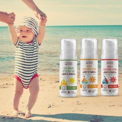 Слънцезащитна грижа за деца