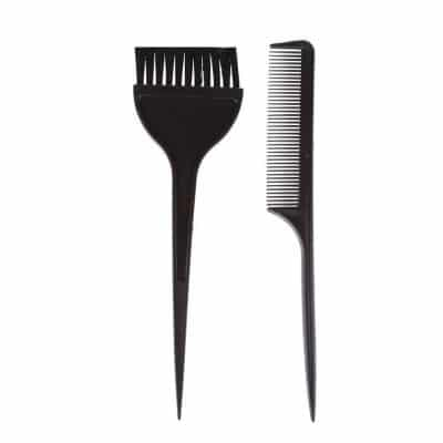 Четка и гребен за боядисване на коса