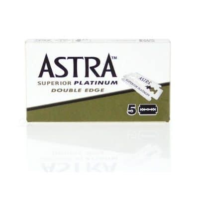 Бръснарски ножчета Astra Superior Platinium 5 бр