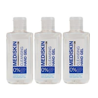 Почистващ гел за ръце със спирт Mediskin 3 х 70 мл
