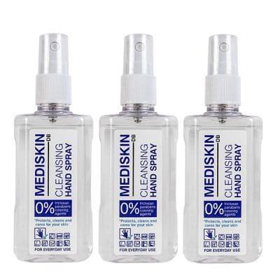Почистващ спрей за ръце Mediskin Cleansing Nand Spray 3 x 100 мл