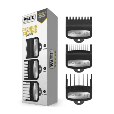 Гребени за машинки WAHL 3354-5001 - 3 бр # ½, # 1 и # 1½