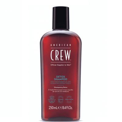 Детоксикиращ шампоан за мъже American Crew Detox Shampoo 250 мл