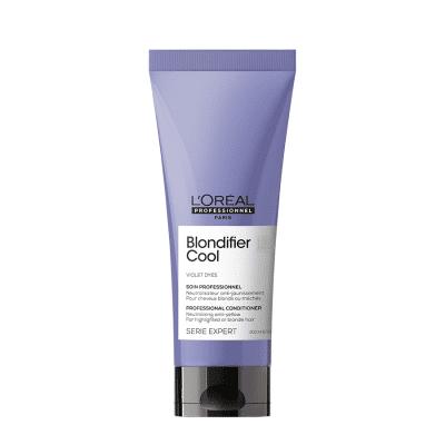 Балсам за неутрализиране на жълти отенъци на руса коса LOreal Professionnel Blondifier Cool Conditioner 200 ml