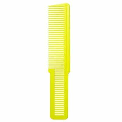 Фризьорски гребен WAHL Yellow Florecent 3191 - 800 Flat Top Comb