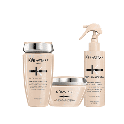 KERASTASE Curl Manifesto за чуплива и къдрава коса
