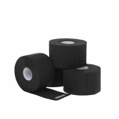 Ленти за врат черни еднократни CERUNIC Neck Protection стек 5 ролки